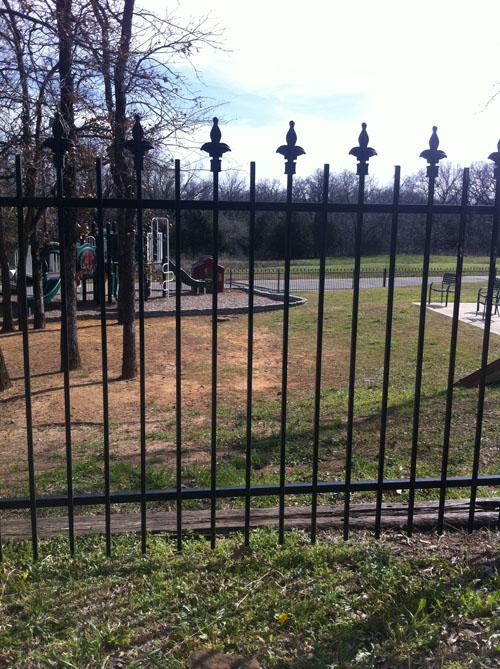 Ornamental Iron Custom Fences Bluebonnent Fences